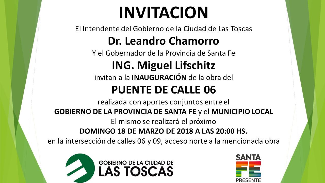 INVITACIÓN PUENTE
