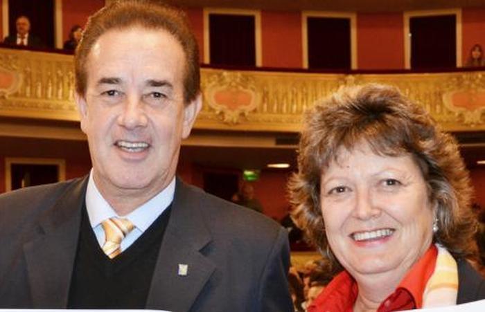 Senador Orfilio Marcón y Diputada Estela Yaccuzzi