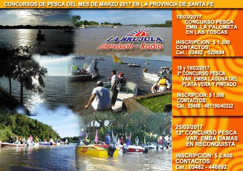Calendario De Pesca.Se Inicia El Calendario De Pesca En El Norte Provincial Las Toscas