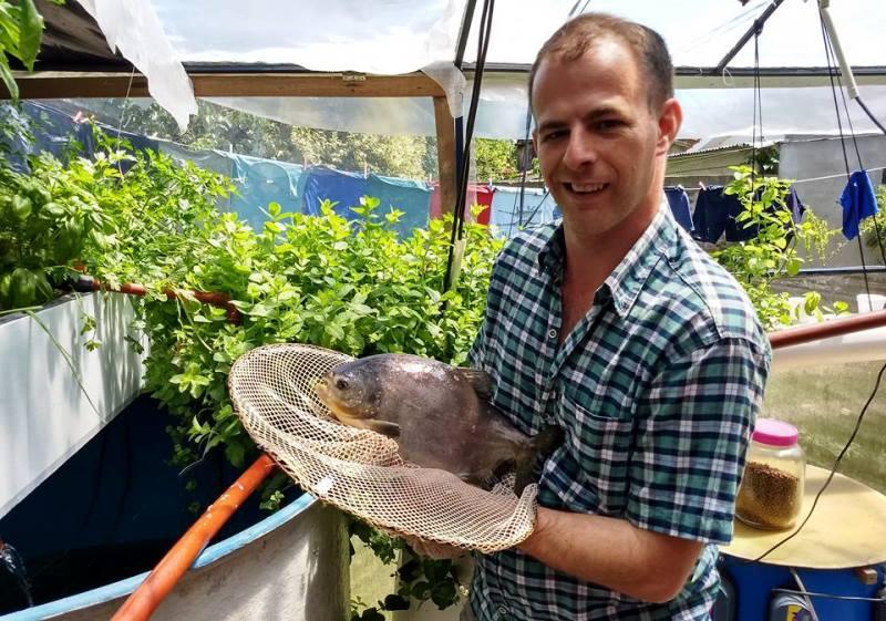 Cr a de peces y horticultura casera en villa ocampo con for Cria de peces en casa