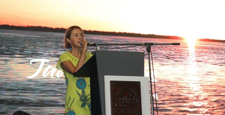 Directora de Calidad Turística de la nación,  Marcela Luján