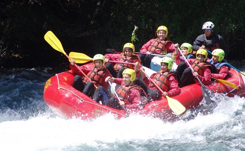 Rafting rio Corcovado - Chubut 08