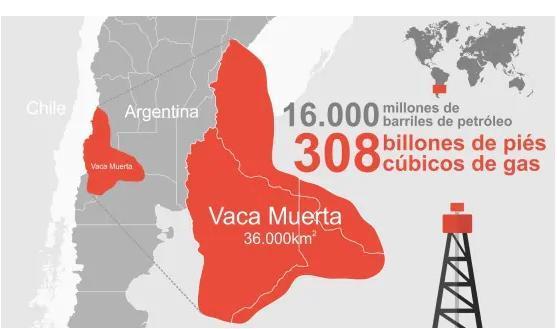 Image result for vaca muerta argentina