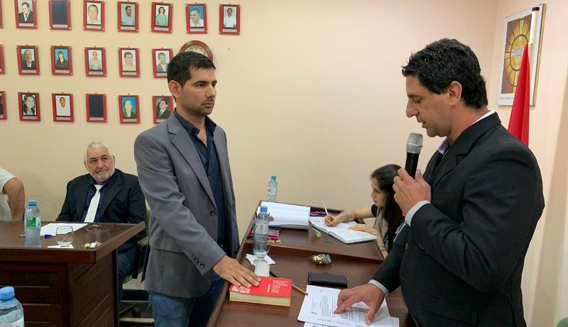 Concejal Iván Sánchez (FPCyS) toma juramento