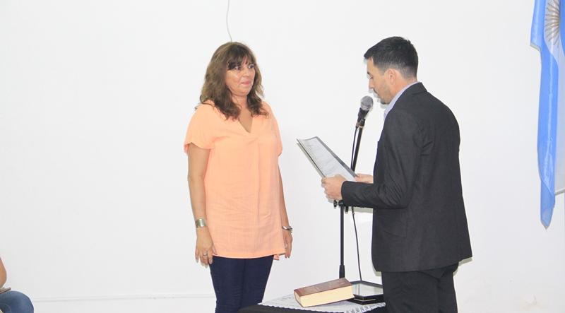 Jura de la concejal Marisa Dubouloy (FPCyS)