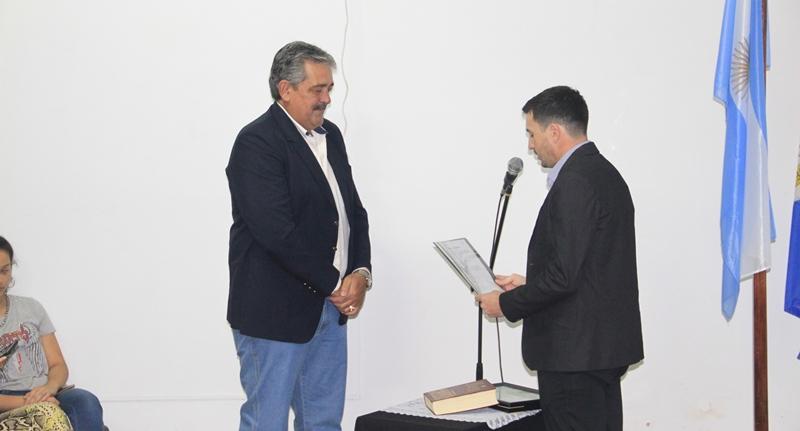 Jura del Concejal Alejandro Ledesma (PJ)