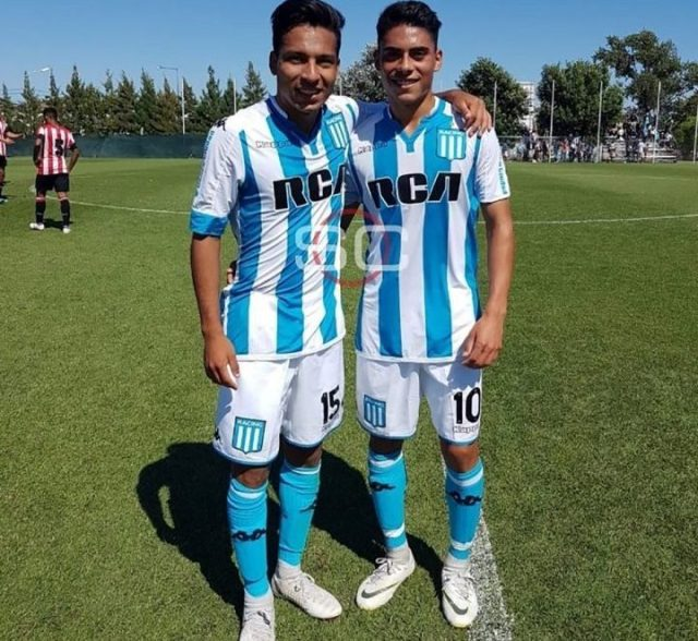 Alan Ortiz y Agustín Rojas, ambos firmarán pronto su primer contrato con Racing. Foto: Sport Center.